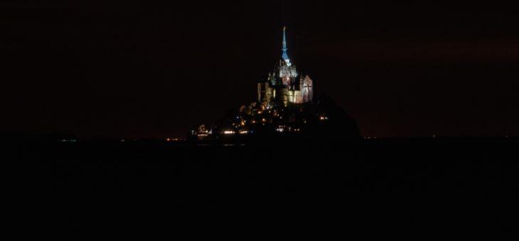 Le Mont-Saint Michel de nuit