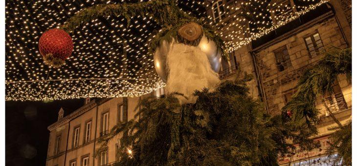 Des illuminations à Fougères