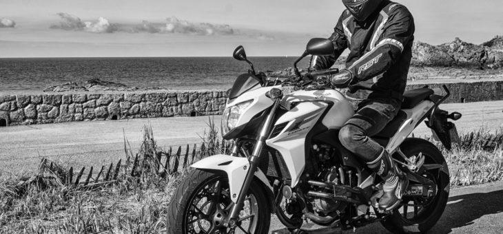 Deux motards autour de St Malo